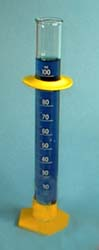 GRADUATED CYLINDERS PLASTIC BASE