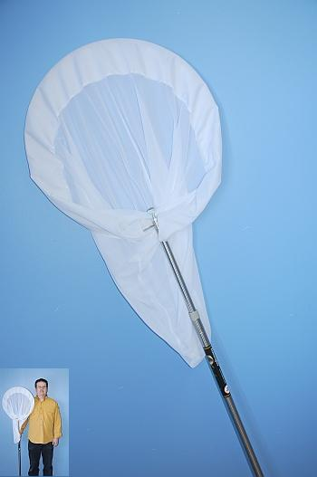 PROFESSIONNAL BUTTERFLY NET WITH A TELESCOPIC STICK
