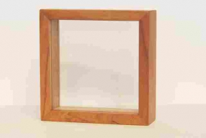 2 GLASS FRAME 4''X 4''