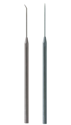 DISSECTING NEEDLE WITH METAL HANDLE
