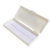 POLYPROPYLENE SLIDE BOX (50 SLIDES)