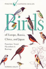 BIRDS OF EUROPE, RUSSIA, CHINA AND JAPAN